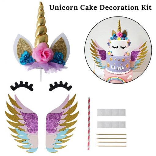 Unicorn Party Decoration Cake