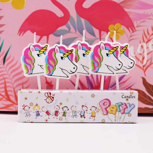 Unicorn Candle Birthday