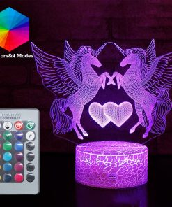 Unicorn Lamp Purple