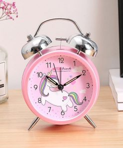 Unicorn Alarm Clock Pink