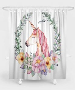 Unicorn Shower Curtain Uk