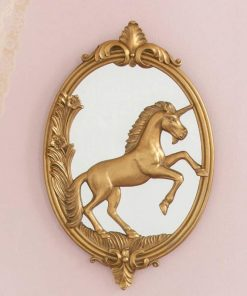 Unicorn Mirror Vintage