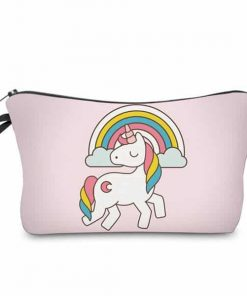 Unicorn Makeup Bag Pink