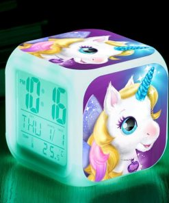 Unicorn Alarm Clock Rainbow
