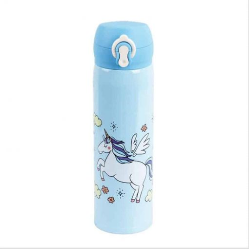 Unicorn Water Bottle Metal