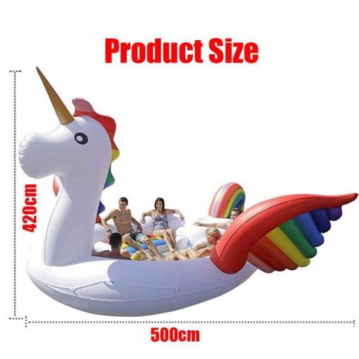 Unicorn Float Giant For 6 Person