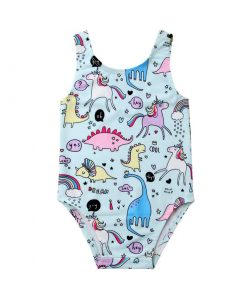 Unicorn Bathing Suit Baby Girl