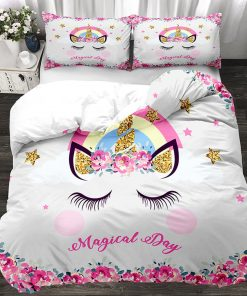 Unicorn Bedding Set Twin