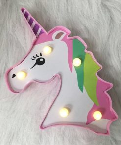 Unicorn Lamp Wall