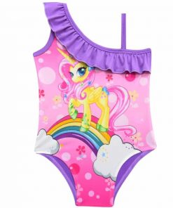 Unicorn Bathing Suit 4t