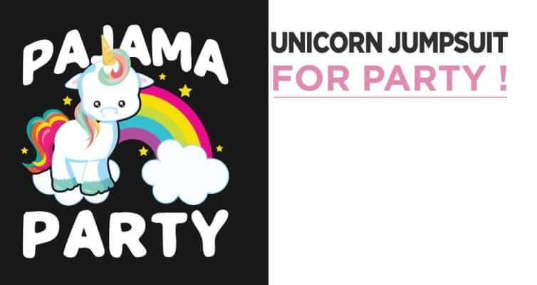 Unicorn Party With Unicorn Jumpsuit : The Secret