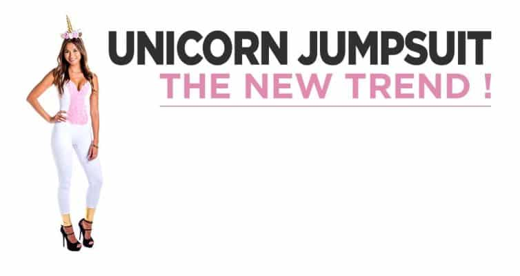 Unicorn Jumpsuit Fashion, The New Trend To Discover