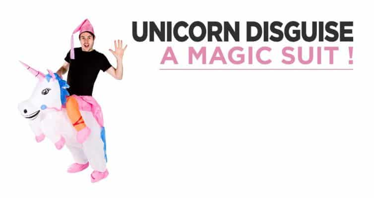 Unicorn Suit Trend : A Magical Disguise