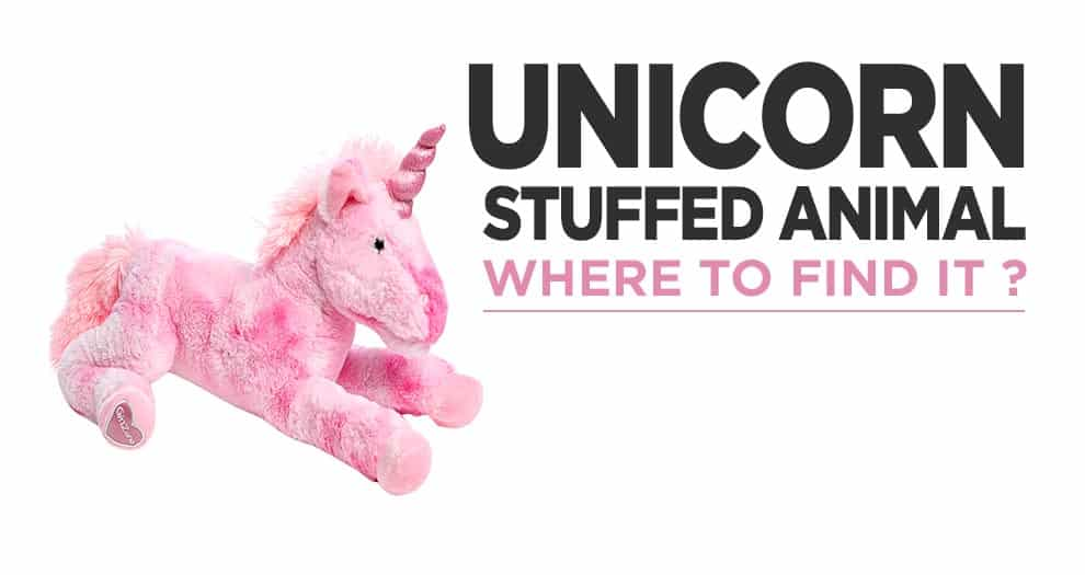 Where To Find A Unicorn Stuffed Animal For Your Child ?