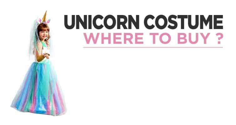 Where To Find A Cheap And Comfortable Unicorn Costume ?
