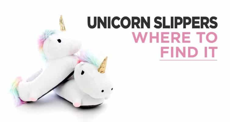 Where To Buy Unicorn Slippers ?