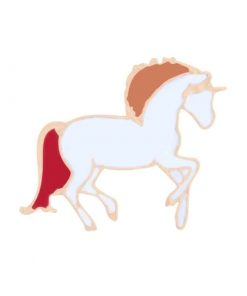 Unicorn Pins Red