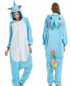 Unicorn Pajamas Blue