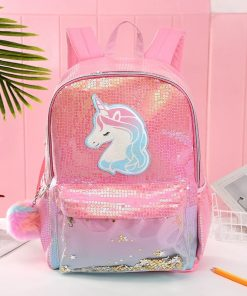 Unicorn Backpack For Kindergarten
