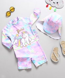 Unicorn Swimsuit Size 7