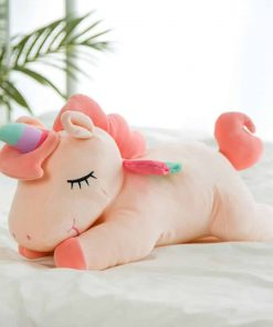 Giant Stuffed Unicorn Pink