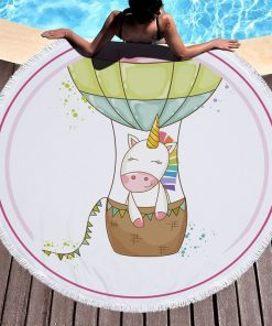 Unicorn Beach Towel Asd