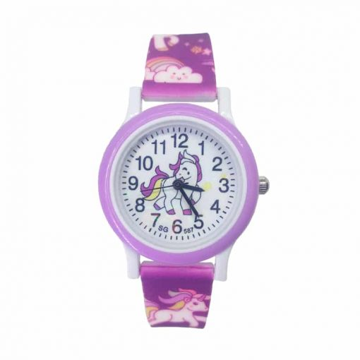 Purple Unicorn Swatch Uk Watch