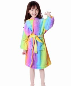 Unicorn Robe 4t