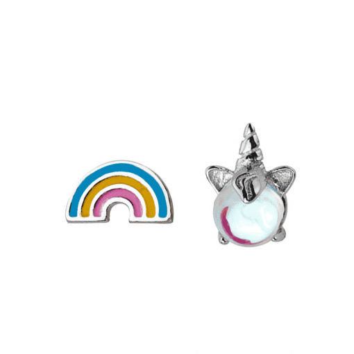 Unicorn Earrings Cat