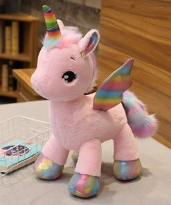 Unicorn Stuffed Animal Flying