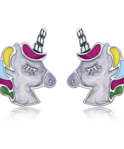 Unicorn Earrings Head