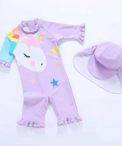 Unicorn Bathing Suit Size 8