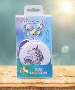 Unicorn Earbud Blue