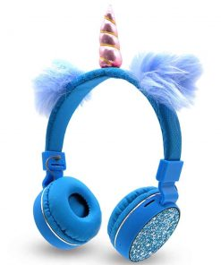 Unicorn Headphone Blue