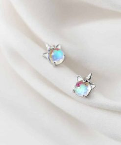 Unicorn Earrings Opal