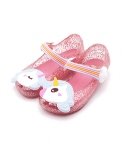 Unicorn Sandals Pink Girls