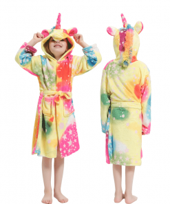 Unicorn Robe Faux Fur
