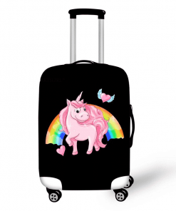 Unicorn Suitcase Emoji