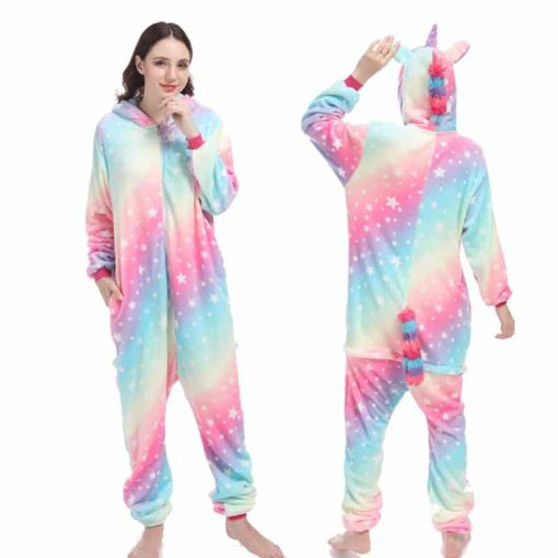 Unicorn Pajamas Plus Size