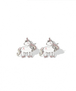 Unicorn Earrings For Toddlers