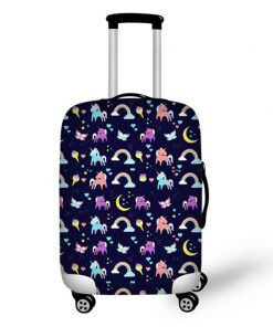 Unicorn Suitcase 4 Wheels
