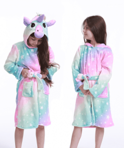 Unicorn Robe Fluffy