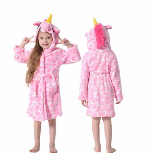 Unicorn Robe Pink