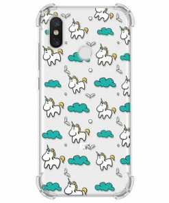 Unicorn Iphone Case Blue