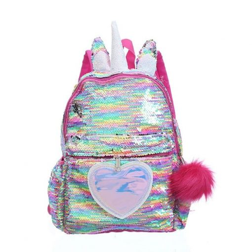 Unicorn Backpack Glitter