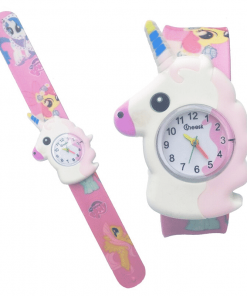 Unicorn Snap Watch For Kids