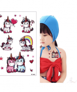 Unicorn Tattoo Temporary Tattoos For Girl