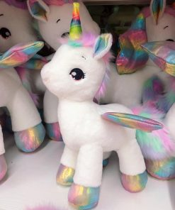 Unicorn Stuffed Animal Colorful