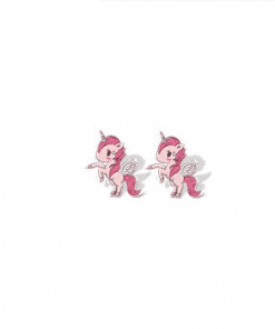 Unicorn Earrings Pink