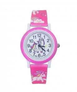 Unicorn Pink Watch Children's Uk